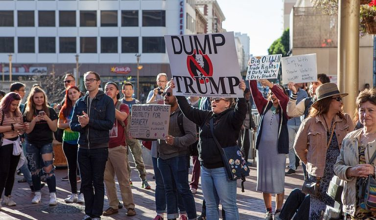 Major Protests Erupt Against Trump As People Take To The Streets In US City, Call On Pelosi To Take Action