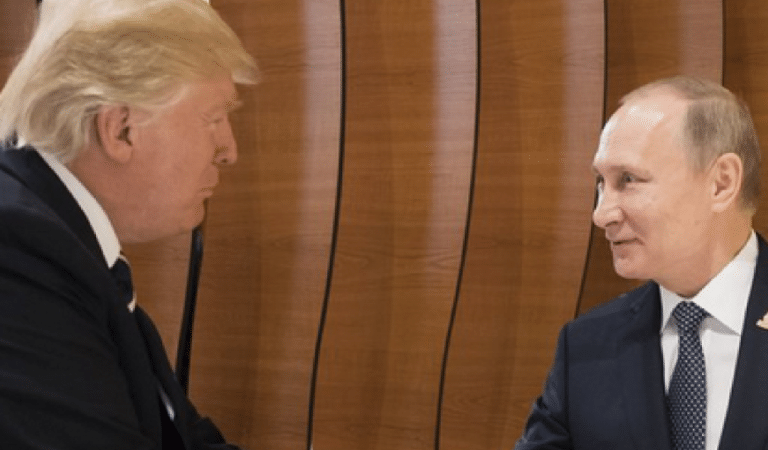 Trump's Secret Deal With Putin Leaked After Promising America Wouldn't Find Out