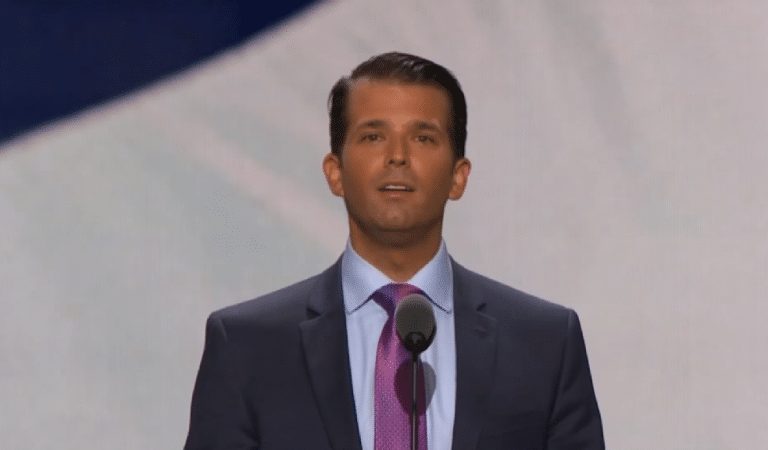 University Of Florida Students Protest Against Trump Jr.'s Visit To The School