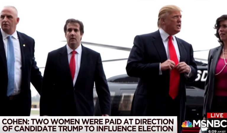 """Reporter Who Spoke To Cohen Right After His Guilty Plea Reveals The Real Reason He's """"Implicating the President"""""""