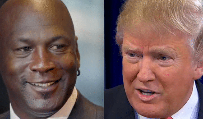 Michael Jordan Just Reacted To Trump Using His Name To Insult LeBron And It Is Everything
