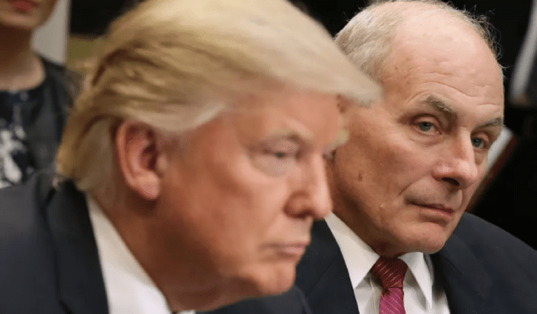Former WH Staffer Exposes John Kelly For Disgusting Behavior, Says He's Just Like Trump