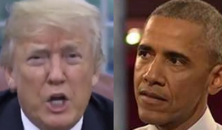 Trump Drags Obama Into His Fight With Joe Biden, Makes Himself Look Like A Complete Moron