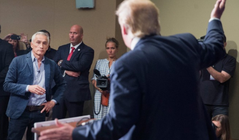 Trump Gets Confronted By Reporters About His Racism, Goes Absolutely Nuts On Camera