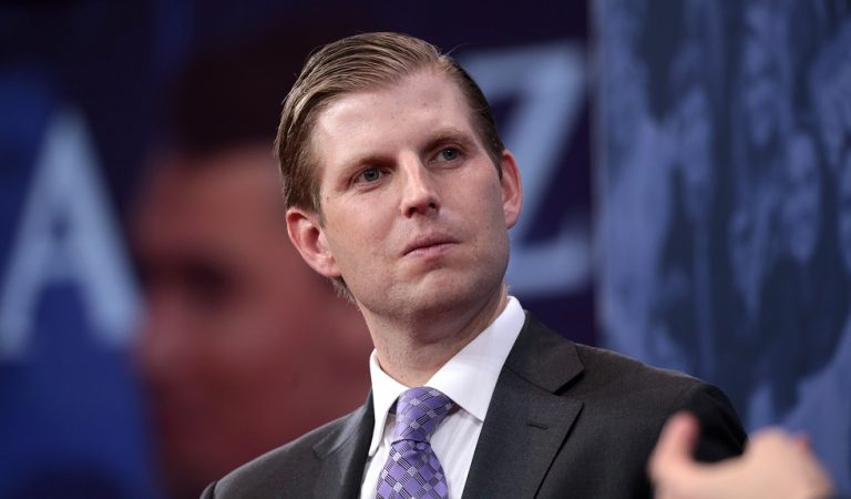 "Twitter Responds After Eric Trump Says ""Crazy"" And Mentally Ill People Shouldn't Own Guns: ""So You're Gonna Turn Yours In?"""