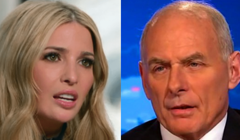 Trump Administration Explodes As Ivanka Accuses John Kelly Of Being Traitor To Trump