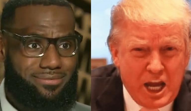 LeBron James Responds To Trump's Attacks On Nike And Kaepernick, POTUS Speechless