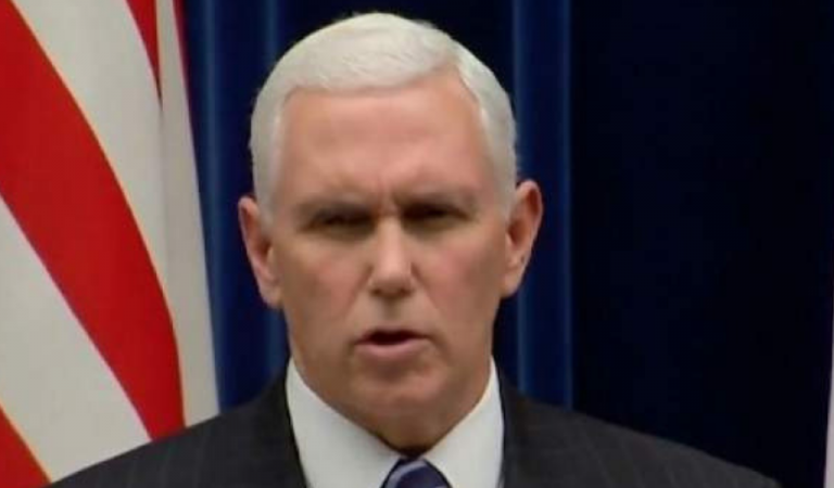 White House Will Be In Damage Control After Old Report Resurfaces Showing Pence In Corruption Scandal