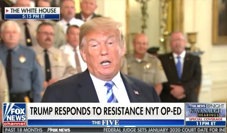 Trump Responds To NYT Op-Ed, Calls For Elimination Of First Amendment Rights For The Paper