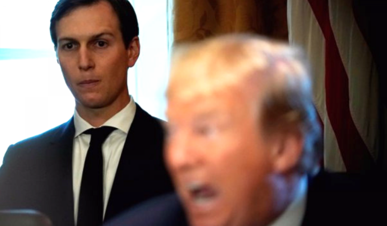 Trump's World Crumbles After Congress Turns Kushner Over To DOJ For Criminal Prosecution