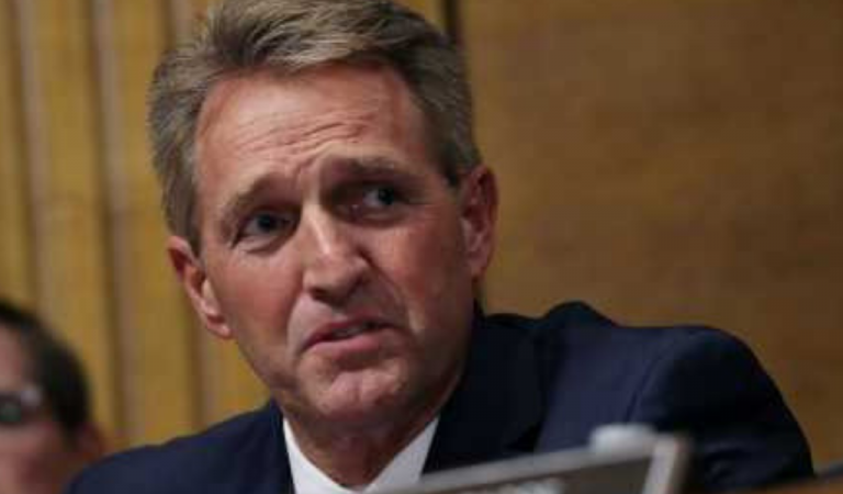 Jeff Flake Falls Apart On Live Television, Fails To Defend His Vote To Confirm Brett Kavanaugh