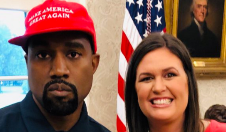 Sarah Sanders Breaks Federal Law With Kanye West, Major Violation For Trump Administration
