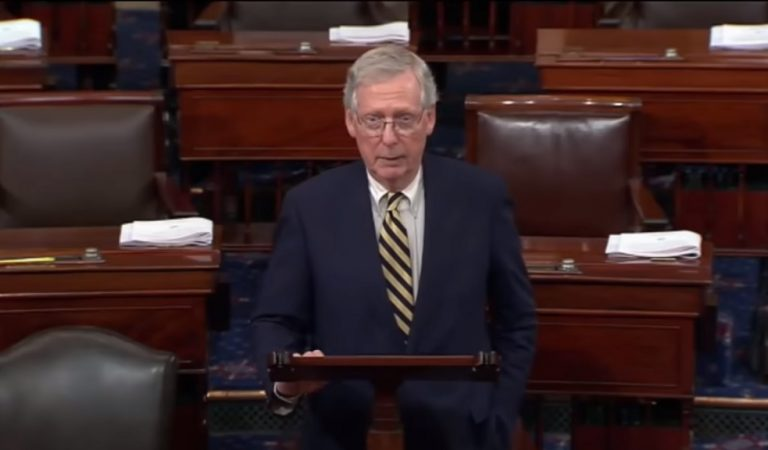 "Mitch McConnell Blocks Two Anti-Interference Election Security Bills, Says Laws ""Benefit"" Democrats"