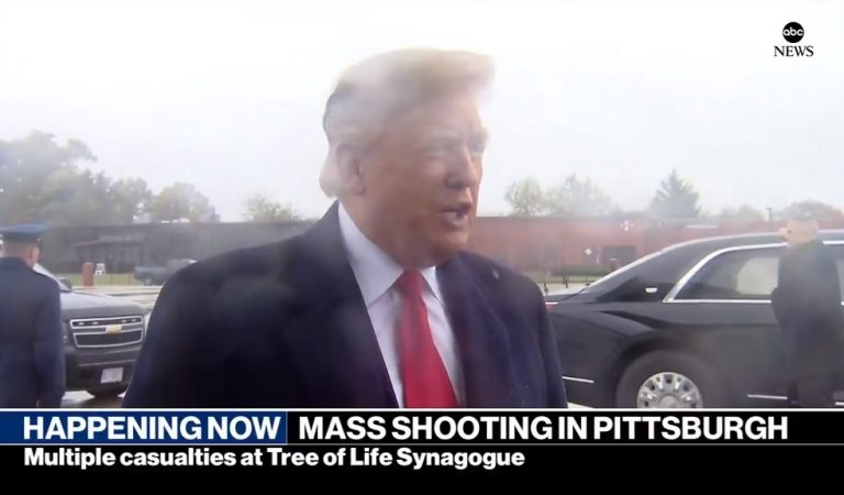 Trump Responds To Deadly Mass Shooting At Synagogue In Most Disgusting Way, Americans Horrified