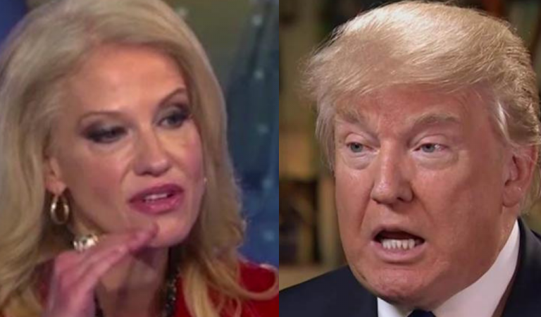 Kellyanne's Marriage In Trouble As She Responds To Trump's Fight With Her Husband