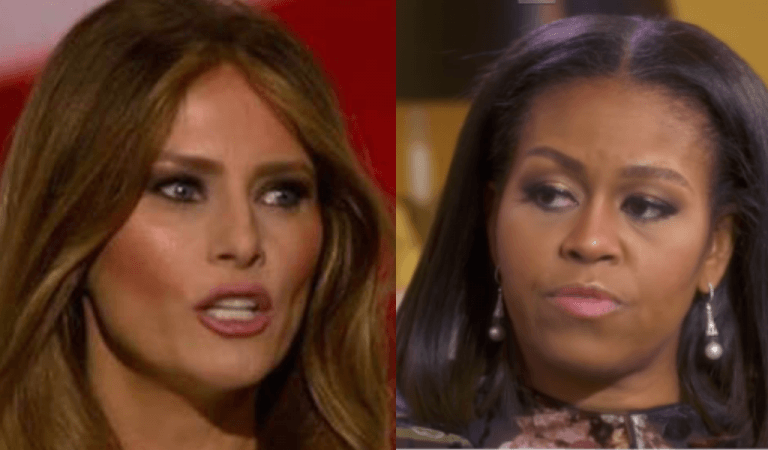 Michelle Obama Offered To Help Melania With FLOTUS Position, Melania's Response Is Shameful