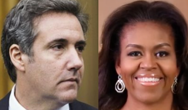 """Michael Cohen's Latest Jab At Trump Is The Biggest """"F*ck You,"""" And It Involves Michelle Obama"""