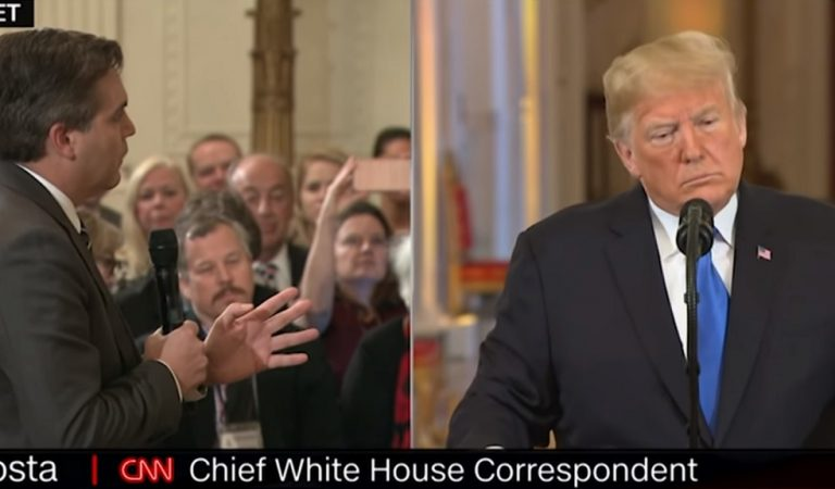 CNN Just Sent Trump A Huge F*ck You, Suing Him And Sanders For Violating Acosta's First Amendment Rights