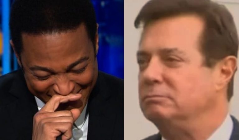 Don Lemon Plays Embarrassing Video Of Manafort Lying To Protect Trump, CNN Host Can't Stop Laughing
