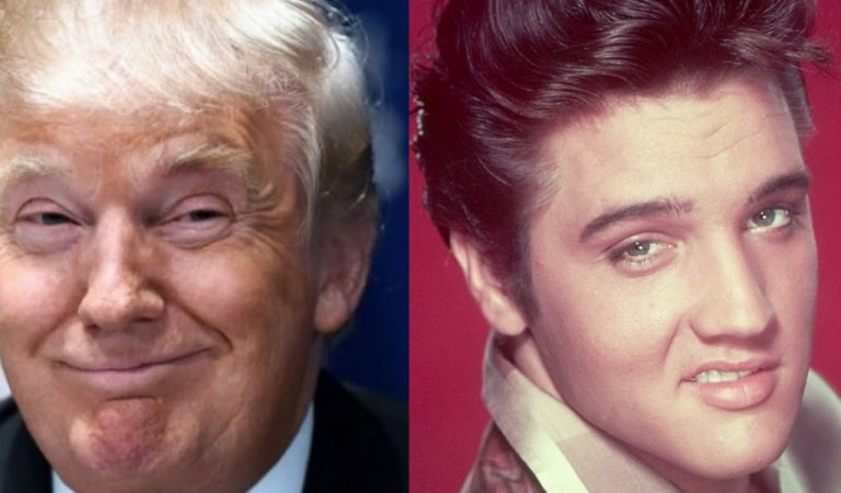 Trump Does A Rally In Mississippi, Compares His Looks To Elvis Presley As The King Rolls Over In His Grave