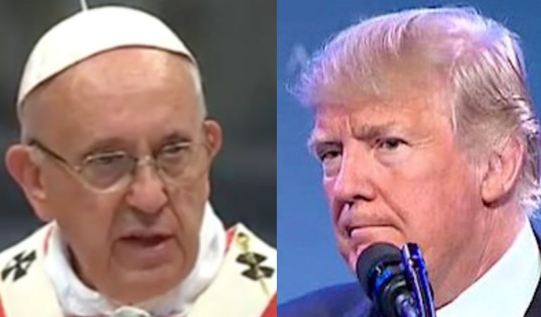 Pope Francis Brutally Condemns Trump's Treatment Of Migrants With One Brilliant Statement