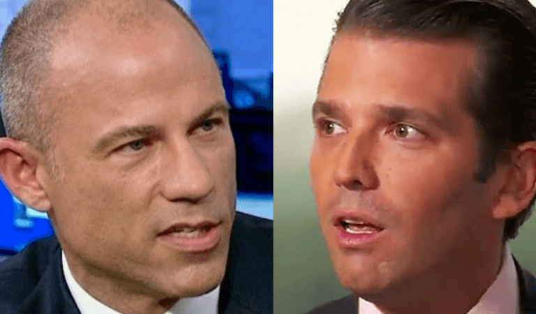 Don Jr. Reacts To Michael Avenatti's Arrest In True Trump Fashion, Makes Dad Proud