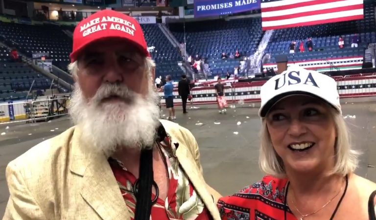 Trump Supporter Apologizes To CNN Reporter After Flipping Him Off During MAGA Rally