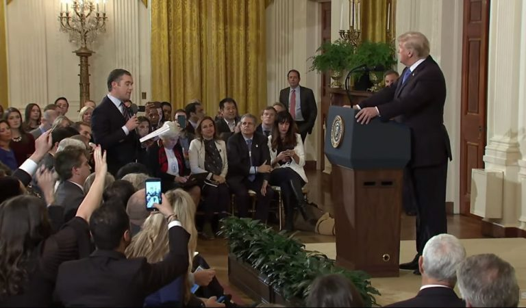 """Source Reveals Real Reason For Trump Confrontation With Acosta After WH Aides Are Quoted Saying """"This Is Going To Be Fun"""""""