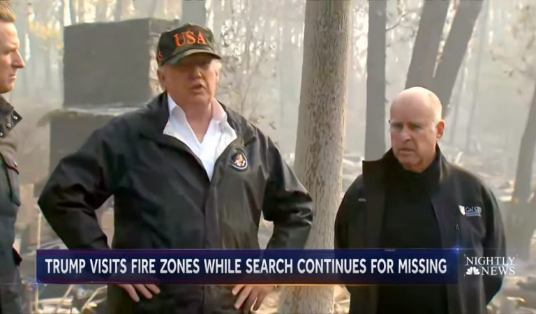 "California Fire Evacuees Slam Trump After His Ignorant Comments, Tell Him To ""Kiss My Red Ass"""