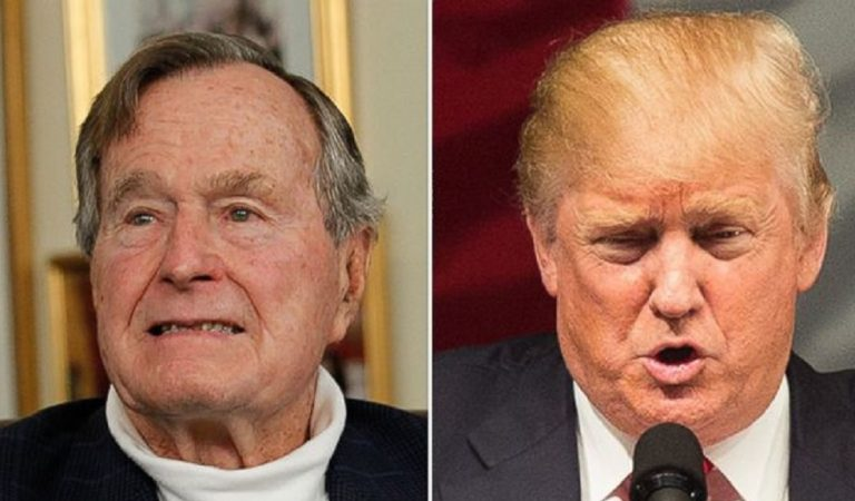 Trump Releases Official Statement On Bush's Passing, Makes A Fool Of Himself With Embarrassing Error