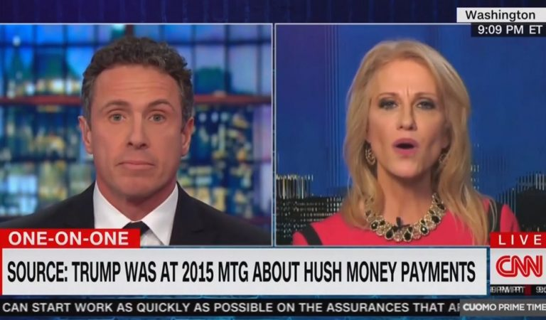 Kellyanne Conway Appears To Get Fact Checked By Her Husband After She Goes On CNN To Defend Trump's Lies