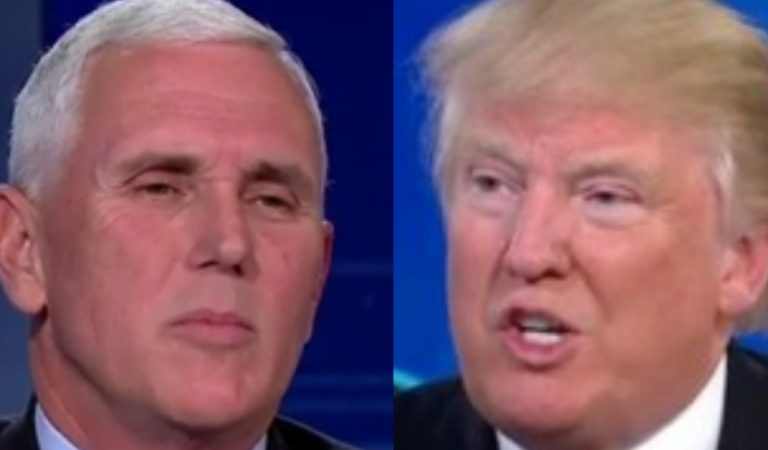 Trump's Real Feelings For Pence Revealed, Doesn't Think He'd Be A Good President