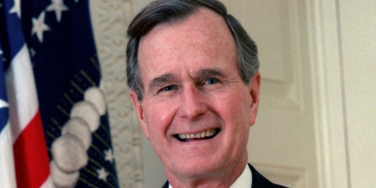 George H.W. Bush's Letter Resigning From The NRA Has Gone Viral, Puts The Entire GOP To Shame · DC Tribune