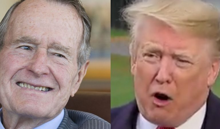 George H.W. Bush's True Feelings About Trump Revealed, Should Make For An Interesting Funeral