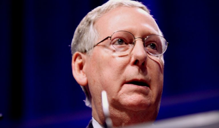 Mitch McConnell's Campaign Gets Their Twitter Privileges Revoked For Posting Profanity-Laced Video