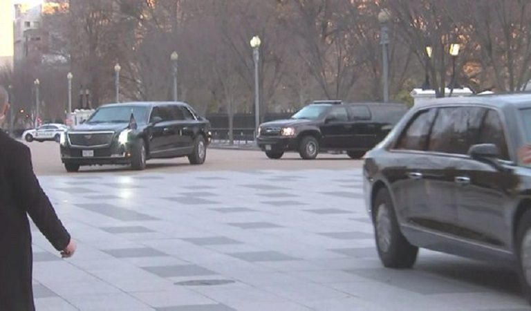 Trump's Stamina In Major Decline As He Rounds Up Motorcade To Drive Him Across The Street From White House