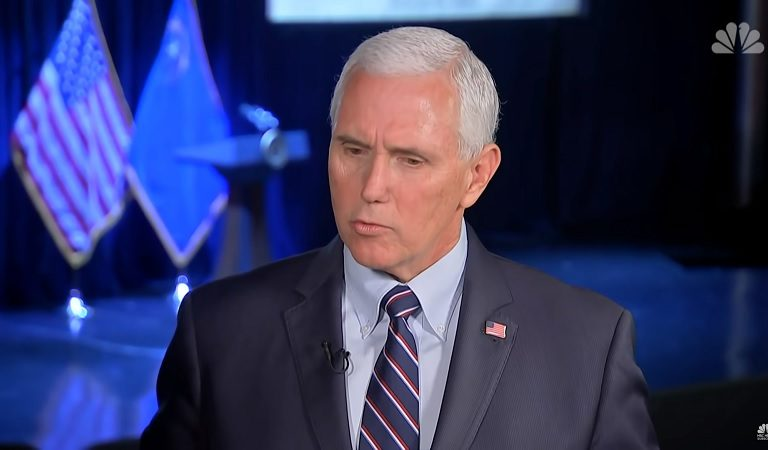 """Pence Gave Americans His """"Number One"""" Advice: """"Spend More Time On Your Knees Than On The Internet"""""""
