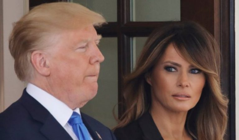 Trump Humiliated As Melania Breaks Away, Abandons Him In Front Of America