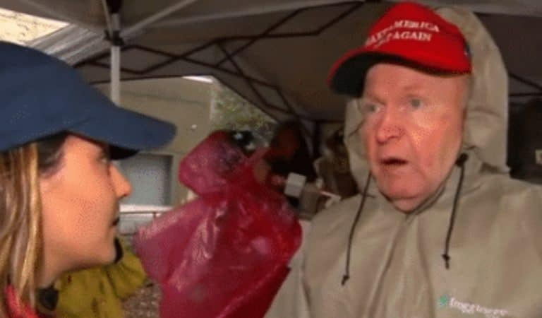 Trump Supporter Is Confronted With Trump's Bigotry In Live Interview, Admits POTUS Is Racist