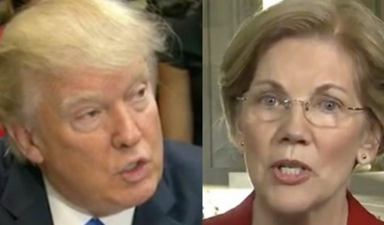 Trump Responds To Elizabeth Warren's 2020 Bid, Has The Audacity To Question Her Mental Health