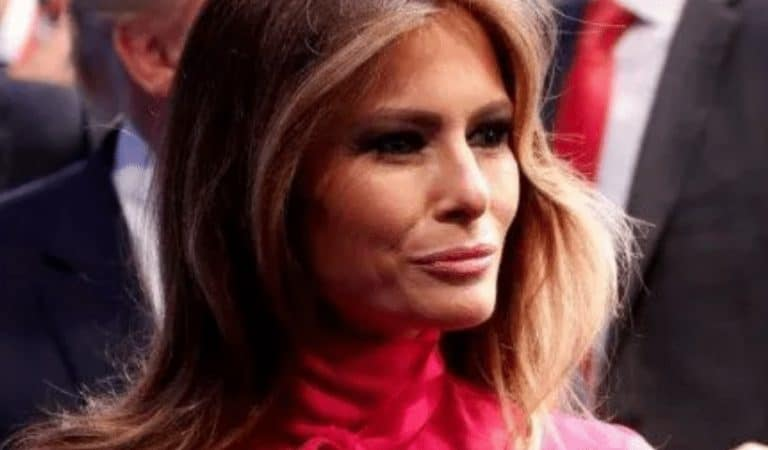 Melania Just Flew In Air Force One To Mar-a-Lago After Trump Grounded Pelosi's Trip
