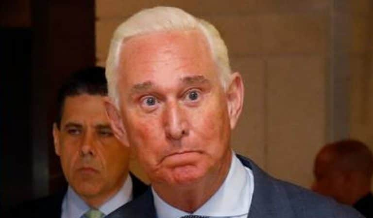 "White House Throws Trump's Buddy Roger Stone Under The Bus, Admits He ""Did Something Wrong"""