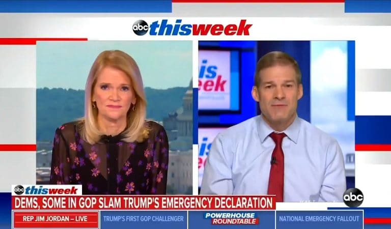 "Republican Congressman Finally Admits Reason Behind Trump's ""National Emergency"" And It Has Nothing To Do With An Emergency"