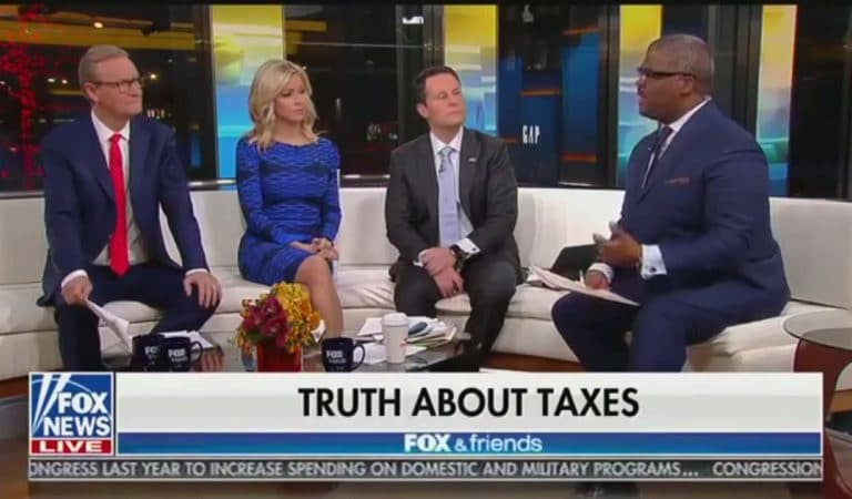 Fox News Tells Americans It's Their Own Fault Their Tax Returns Are Less This Year