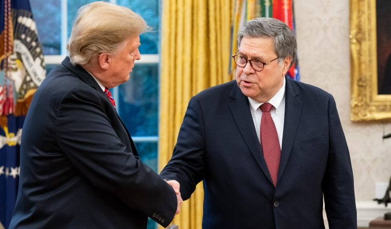 AG Bill Barr Just Spent 30K At Trump's DC Hotel For Upcoming Holiday Extravaganza