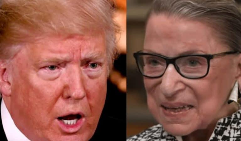 """Ruth Bader Ginsburg Wins """"Real-Life Hero"""" Award, Trump Will Lose His Mind"""