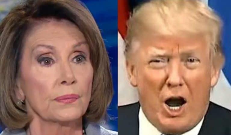 Nancy Pelosi Brutally Mocks Trump, Uses President's Own Words Against Him In Smackdown