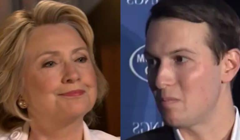 Hillary Clinton Trolls The Entire Republican Party Over Jared Kushner's WhatsApp Fiasco