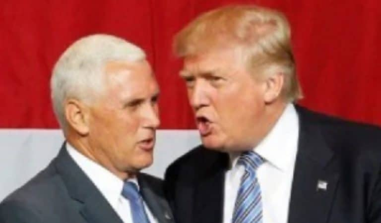 Insider Reveals Why Pence Is Always Sucking Up To Trump Behind Closed Doors; This Is Disturbing