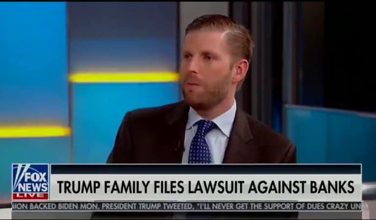 Eric Trump Threw His Sister Under The Bus On Live TV While Talking About POTUS' Legal Strategy